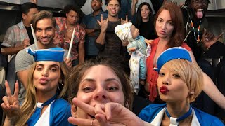 First Class vs Economy Flight | Hannah Stocking