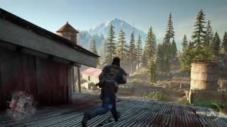 Days Gone -Game play playstation 4