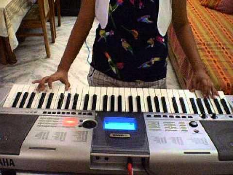 Ritika Pachori - Ek Tu Hi Bharosa-On Keyboard