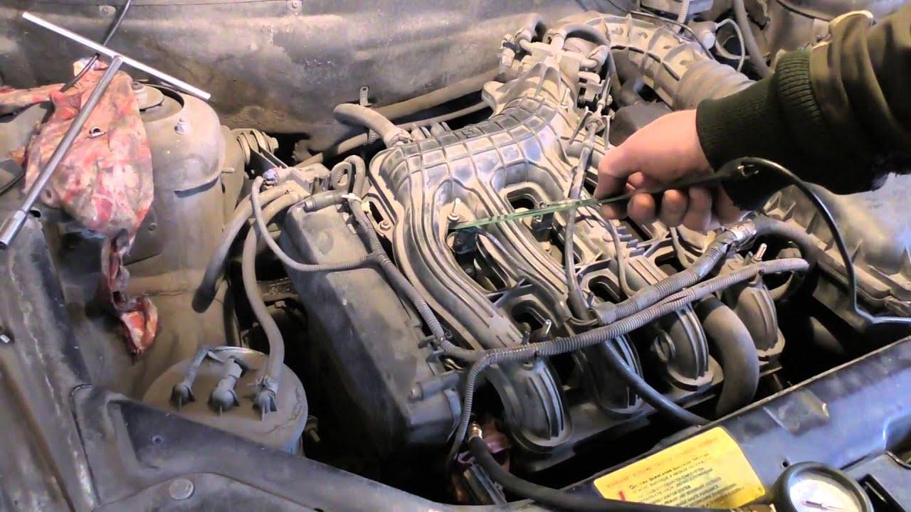 Шевроле нива троит на холодном двигателе