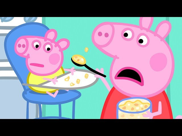 Peppa Pig Full Episodes | Baby Alexander | Cartoons for Children thumbnail