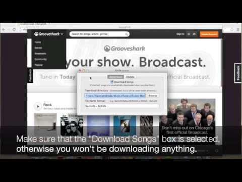 Download Streaming Songs From Grooveshark- On Machintosh (Orbit On Mac) - UPDATED