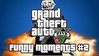 GTA5 Online Funny Moments 2 - Fail, Epic Clips, Ich bin eine Biene [German/Deutsch]
