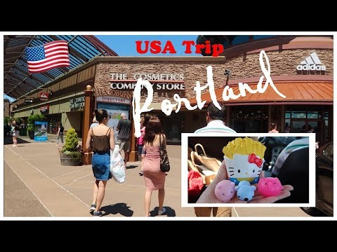 USA Trip/ Woodburn Premium Outlets, Oregon/ Beli Squishy French Fries, Squish Amals/ Balik Seattle