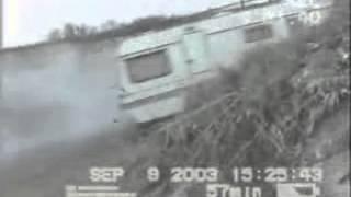 Caravane caravan descente funny drole marrant