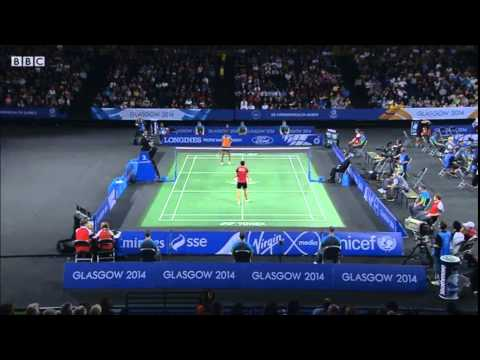 2014 Commonwealth games badminton WS semifinals