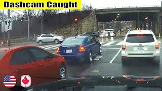 Ultimate North American Cars Driving Fails Compilation - 207 [Dash Cam Caught Video]