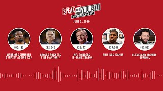 SPEAK FOR YOURSELF Audio Podcast (6.3.19) with Marcellus Wiley, Jason Whitlock | SPEAK FOR YOURSELF