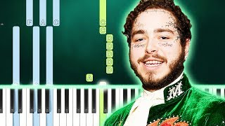 Post Malone - Saint-Tropez (Piano Tutorial) By MUSICHELP