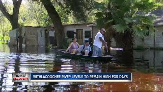 Withlacoochee River crests but flooding is far from over