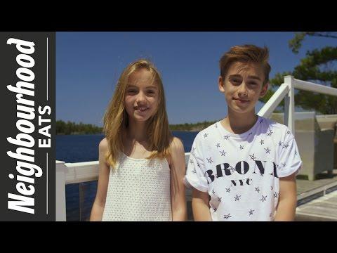 Neighbourhood Eats: Johnny and Lauren Orlando Visit Honey Harbour