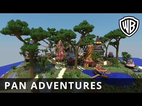 Pan – Pan Adventures In Minecraft - Official Warner Bros. UK