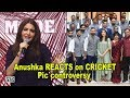 Anushka REACTS on her CRICKET Pic controversy with Virat- Video