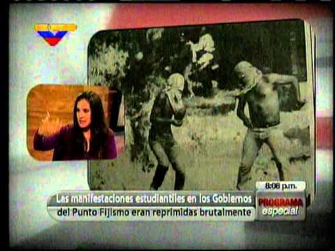 Persecuciones y masacres estudiantiles en Venezuela