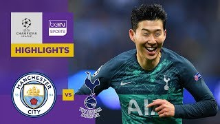 Manchester City 4-3  Tottenham   Champions League Highlights