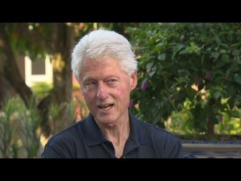 Clinton: I feel peace coming for Israel, Gaza