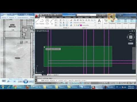 Curso de AutoCAD Gratis Parte 01: Hacer Plano de una Casa