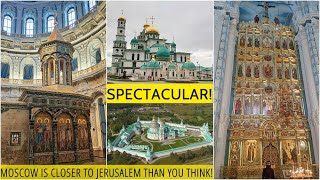 FINALLY! Russia's New Jerusalem Monastery Completed After Ten-Year-Long Restoration! Have A Look!