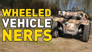 Wheeled Vehicle Nerfs - World of Tanks