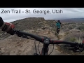 Mountain Biking Zen Trail in St. George, Utah