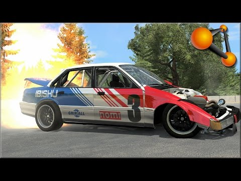BeamNG Drive Flipping Cars #2