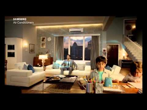 "Samsung Air Conditioner New AD ""Non stop..."