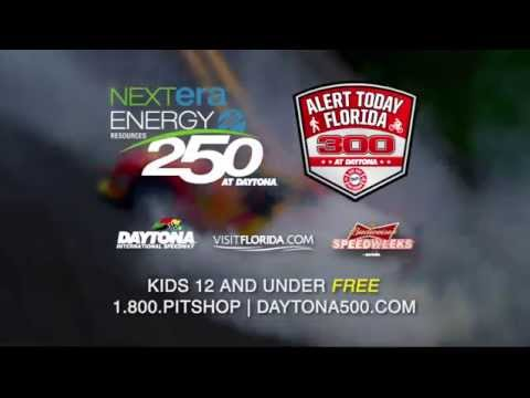 NextEra Energy 250 and Alert Today Florida 300 Commerical