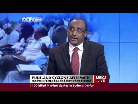 Former Somali Prime Minister, Abdiweli Mohamed Ali, talks on the country's political deadlock