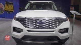 2020 Ford Explorer Platinum - Exterior And Interior Walkaround - 2019 Toronto Auto Show