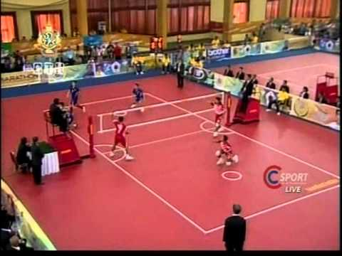 Sepaktakraw Sea Games 2011 [thailand-indonesia]gold Medal Match Set3 video