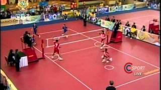 SepakTakraw SEA GAMES 2011 [Thailand-Indonesia]Gold Medal Match Set3