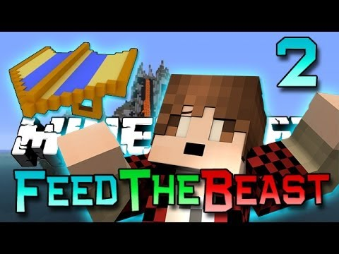 Minecraft: Feed The Beast Ep. 2 - How To Fly! (Modded Survival Series)