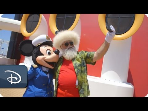 Santa's Summer Vacation with Disney Cruise Line | Disney Parks