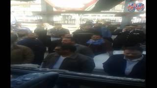 انفجار اتوبيس نقل عام بميدان عبد المنعم رياض دون معرفة الاسباب