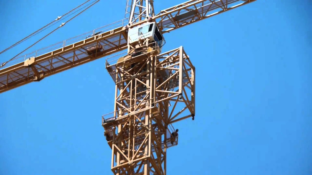 The Tower Crane At K2 Jumps 100 Feet