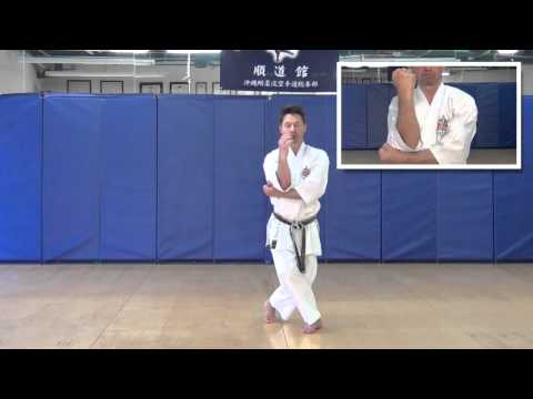 Seiyunchin kata - Instructional