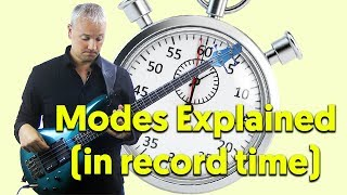 Modes For Bass Explained..In Record Time!