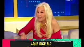 "SUSANA GIMENEZ CITO A UNA ""PORN-STAR"" PARA QUE LA AVIVE- 01-10-13"