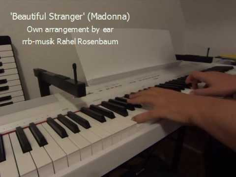 Beautiful Stranger (Madonna) Live Piano Version (Arrangement by Ear)