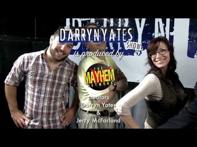 The Darryn Yates Show promo (Aug 2013)