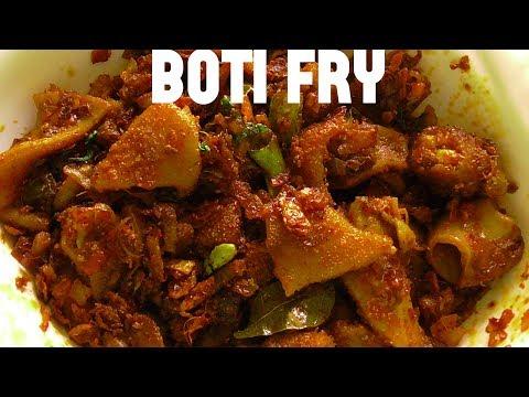 DELICIOUS BOTI FRY/malabar boti fry/village style mutton boti fry