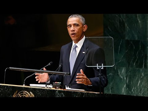 'US cannot solve world's problems alone': Obama addresses UNGA (FULL SPEECH)