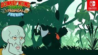 Esto es más Hermoso que CALAMARDO!! - Donkey Kong Country TROPICAL FREEZE #2 (SWITCH) - ZetaSSJ