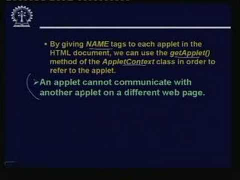 Lecture -29 Java Applets - Part:2