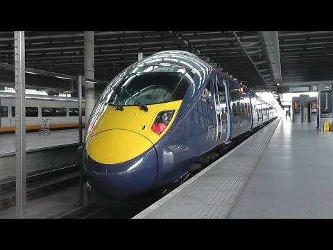 St Pancras to Ashford International via High Speed One - Southeastern Class 395 Javelin 16/05/15