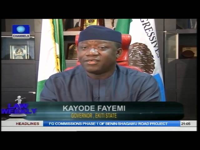 LAW WEEKLY: EKITI CRISIS: Rule Barring Judges From Speaking Out When Violated Needs Review?