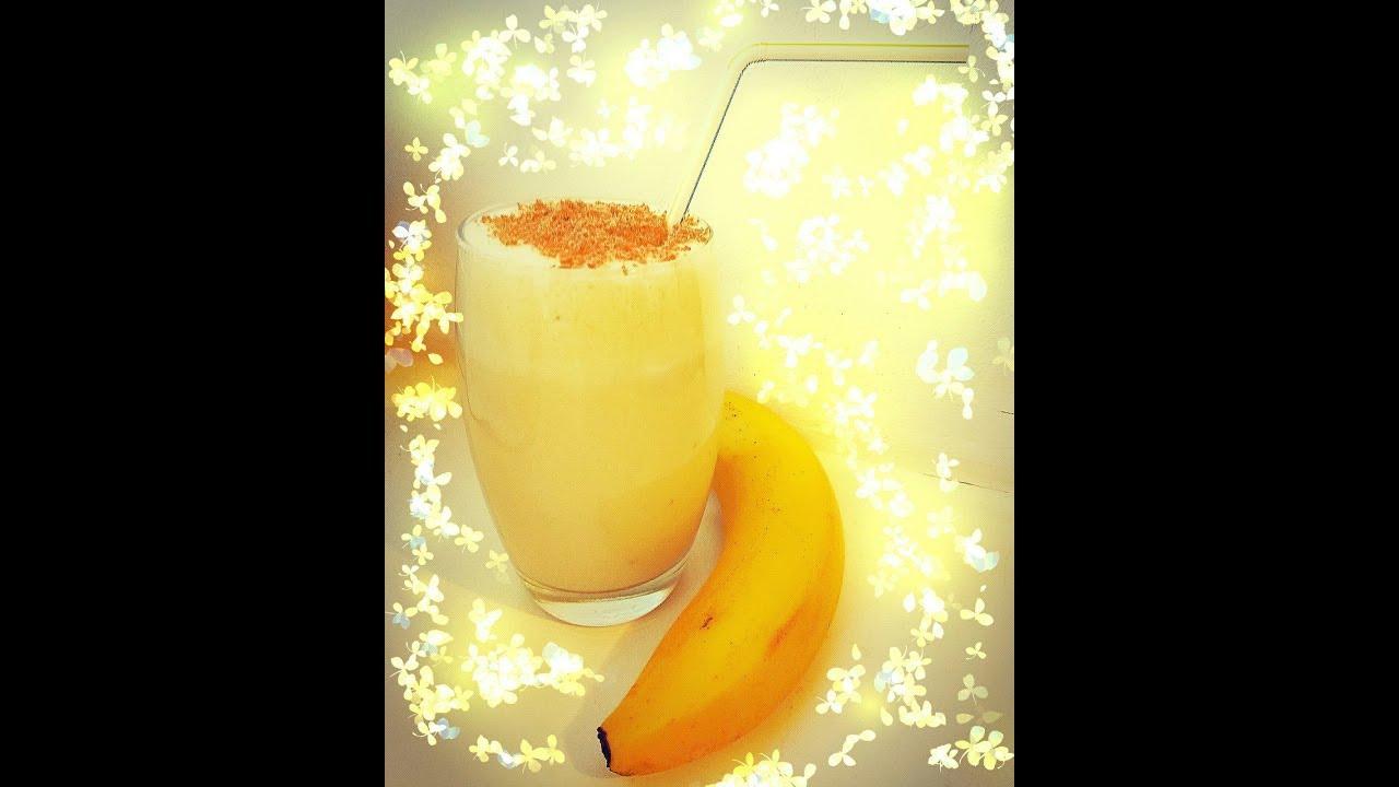 Как сделать молочный коктейль с бананами в блендере