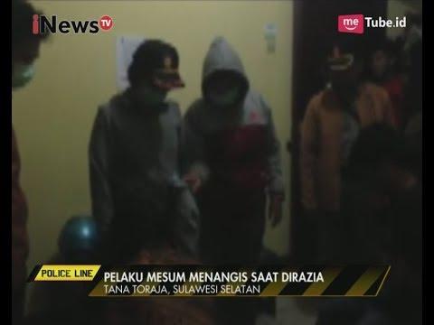 Pasangan Mesum Menangis Saat di Razia Petugas di Tana Toraja, Sulsel - Police Line 19/06