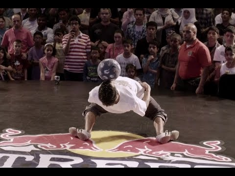Soccer Freestyle Juggling – Red Bull Street Style Finals in Dubai
