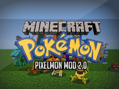 Minecraft - Pokemon! Pixelmon Mod 2.0 All Recipes/Review